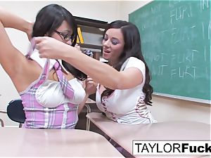 horny school nymphs lezzy eagerness