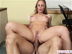 Nicole Aniston - My very first tutor, who told me about bang-out and took my man meat on the desk