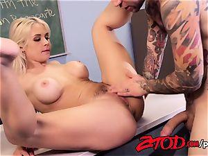 Sarah Vandella Getting pummeled By Her Stepson