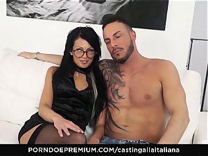 casting ALLA ITALIANA - horny fuckfest with local amateur