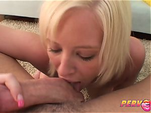PervCity blond breezy Face pounded