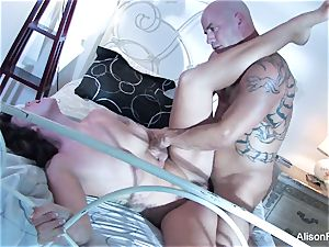 magnificent Alison Tyler gets porked in bed