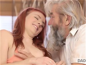 DADDY4K. guy and his aged parent crew up to penalize promiscuous girlfriend