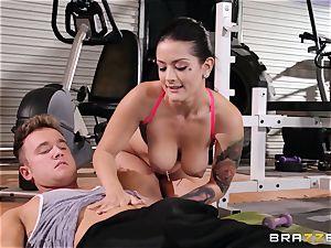Serious cootchie workout for Katrina Jade