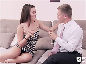 porn ACADEMIE - yankee Lana Rhoades plumbs principal