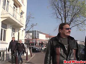 Amsterdam prostitute bj's client