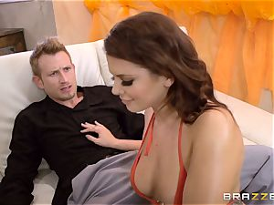 Smoking red-hot Keisha Grey penetrated in her ass hole