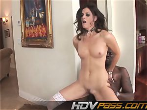 HDVPass multiracial sex with India Summers