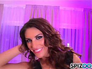 Spizoo - August Ames get boned by a enormous stiff trunk