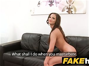 faux Agent supreme body romped on the audition sofa