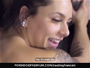audition FRANCAIS - cool inexperienced first pornography pummel