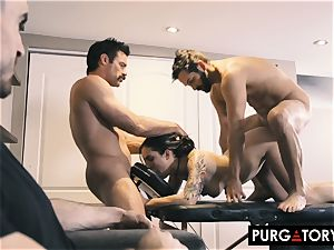 PURGATORY I let my wife drill two dudes in front of me