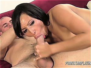 Faustine Lee pounded in front of live cam
