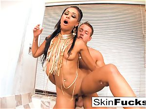 queen of the Damned jerks his pecker