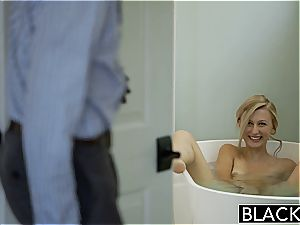 BLACKED blond girlfriend Alexa grace Cheats with big black cock