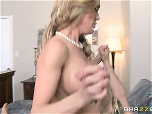 Brandi enjoy teaches her stepson a lesson