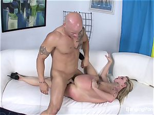 Getting boned by Derrick Pierce on the couch