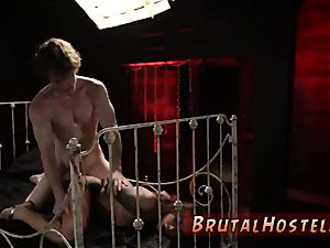 slave bondage and dom first-ever time sexually aroused youthfull tourists Felicity Feline and Jade