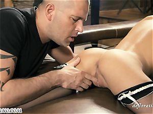 youthful Russian porn industry star Katia Ivanova (Foxy Di) wants fucky-fucky with an adult masculine