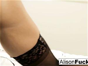 ginormous tittie Alison teases