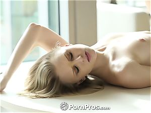 PornPros huge pecker pulverize and facial with Lily Rader