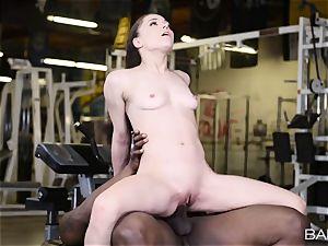 Tiffany star steaming interracial gym labia bang