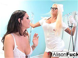 weird Nurse Nikita tries to heal Alison