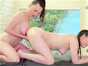 Married milf very first Time massage With all girl nubile