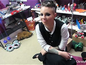 Behind the vignettes with sex industry star Christy Mack