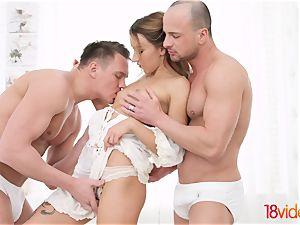 legal Videoz - Katrin Tequila - All-white home dp soiree