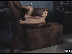 hot Amirah Adara gets her butt opened up by monster salami