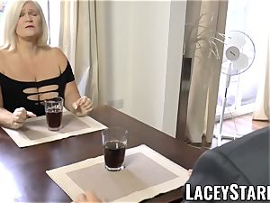 LACEYSTARR - horniest granny analled before money-shot