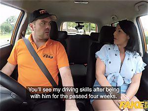 fake Driving college Candi Kayne returns