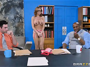 Britney Amber getting group nailed