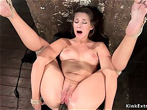 steamy caboose hogtied black-haired gash played