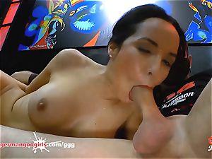 Francys Belle goddess of anal gangbang - German Goo gals