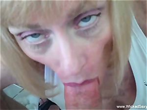 son-in-law woos mom To creampie
