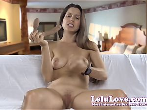 gargling on my faux-cock displaying how I would deep-throat yours