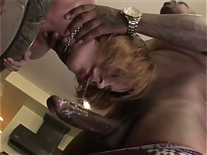 sandy-haired With Braces big black cock rectal