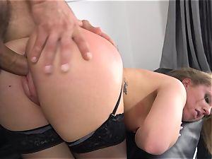 Maddy OReilly jammed full in her underwear