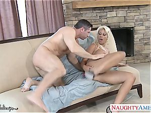 bootylicious Bridgette B. filled with his rod